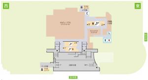 大丸梅田店15階地図