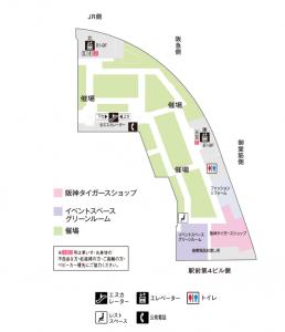 阪神8階地図